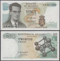 Billet De 20 Francs 15/06/64 - Neuf ( FDC) (DD) DC1996 - Belgien