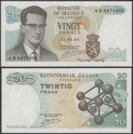 Billet De 20 Francs 15/06/64 - Neuf ( FDC) (DD) DC1996 - Belgique