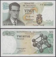 Billet De 20 Francs 15/06/64 - Neuf ( FDC) (DD) DC1997 - Belgique