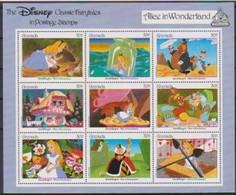 2484 WALT DISNEY -  GRENADA - CLASSIC FAIRYTALES  - ALICE In WONDERLAND . - Disney