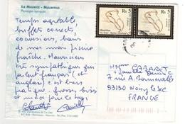 "Timbre , Stamp   "" Dodo "" De 2007 Sur Cp , Carte , Postcard - Maurice (1968-...)"