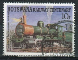 Botswana 1993 Single 10t Commemorative Stamp From The Railway Centenary Set. - Botswana (1966-...)