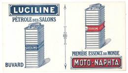Buvard Luciline, Pétrole Des Salons , ESSENCE, Moto Naphta - Öl & Benzin