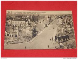 LEUVEN -  LOUVAIN  -  Ruines De Louvain -  Rue De La Station  - ( Carte Publicitaire Au Dos ) - Leuven
