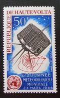 6 EME JOURNEE METEOROLOGIQUE MONDIALE 1966 - NEUF ** -YT PA 28 - MI 181 - Haute-Volta (1958-1984)