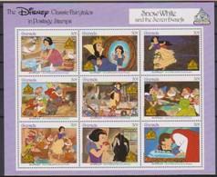 2488  WALT DISNEY -  GRENADA - CLASSIC FAIRYTALES  - SNOW WHIT And The Seven Dwarfs . - Disney