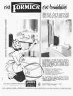 "PUB   "" FORMICA  ""   1956 ( 4 ) - Meubles"