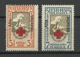 Estland Estonia 1923 Michel 46 - 47 A * - Estonie