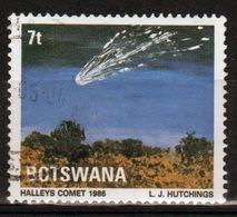 Botswana 1986 Single 7t Commemorative Stamp From The Halleys Comet Set. - Botswana (1966-...)