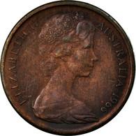 Monnaie, Australie, Elizabeth II, Cent, 1966, TB+, Bronze, KM:62 - Monnaie Décimale (1966-...)