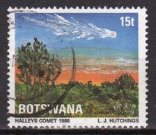 Botswana 1986 Single 15t Commemorative Stamp From The Halleys Comet Set. - Botswana (1966-...)