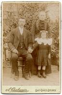 SART DAMES AVELINES Famille Avec Enfant - Photographe Alfred CHARBONNIER Photo Ancienne - Villers La Ville - Villers-la-Ville