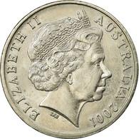 Monnaie, Australie, Elizabeth II, 20 Cents, 2001, TTB, Copper-nickel, KM:403 - Monnaie Décimale (1966-...)