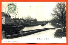 """CPA 52 Saint Dizier """" Le Canal """" - Saint Dizier"""