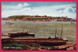 Quebec From Levis - Paquebot - Animée - Colorisée - Levis