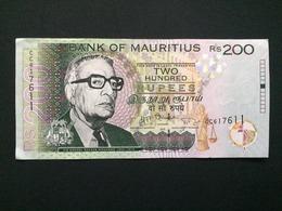 2013 MAURITIUS 200 RUPEES - AUNC - - Maurice