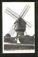 AK Saint-Briac, Le Vieux Moulin, Alte Windmühle - Moulins à Vent