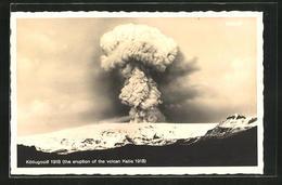 AK Kötlugosid / Island, Eruption Of The Volcan Katla 1918 - Island