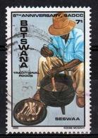 Botswana 1985 Single 7t Commemorative Stamp From The African Development Conference Set. - Botswana (1966-...)
