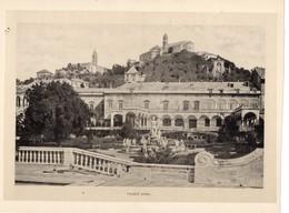 Italie :Genes Palazzo Doria (reproduction De Photo Ancienne En Noir Et Blanc De 20 Cm Sur 27 Cm) - Photographie