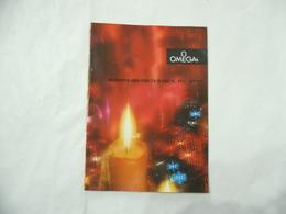 CATALOGO DEPLIANT INSERTO SPECIALE COLLEZIONE OMEGA VINTAGE- - Pubblicitari