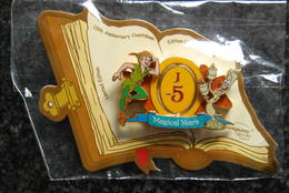DLRP - Countdown To 15th Anniversary J-5 (Peter Pan And Lumiere)   Limited Edition 900 Ex. - Disney