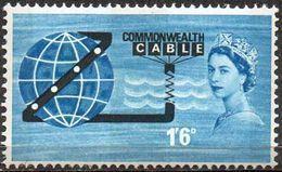 GREAT BRITAIN 1963 Opening Of COMPAC (ordinary) - 1952-.... (Elizabeth II)