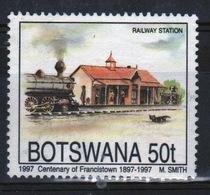Botswana 1997 Single 50t Commemorative Stamp From The Francistown Centenary Set. - Botswana (1966-...)