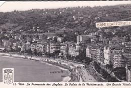 NICE - Dépt 06 - La Promenade Des Anglais - Palais De La Méditerrannée - Les Grands Hôtels - Nizza