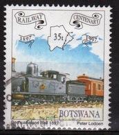 Botswana 1997 Single 35t Commemorative Stamp From The Railway Centenary Set. - Botswana (1966-...)