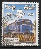Botswana 1997 Single P2 Commemorative Stamp From The Railway Centenary Set. - Botswana (1966-...)