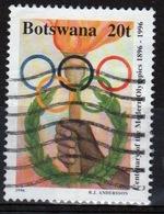 Botswana 1996 Single 20t Commemorative Stamp From The Centenary Of Modern Olympics Set. - Botswana (1966-...)