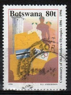 Botswana 1996 Single 80t Commemorative Stamp From The Centenary Of Modern Olympics Set. - Botswana (1966-...)