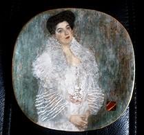 GUSTAV KLIMT-Assiette LILIEN PORZELLAN - Portrait Hermine GALLIA - Tirage Limité -N° 687 A - Avec Boîte Et Certificat - Lilienporzellan (AUS)