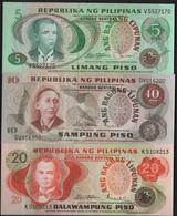 B 101 - PHILIPPINES Lot De 3 Billets états Neufs - Philippines