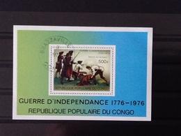 Congo Brazzaville  Independance War 1776-1976. - Oblitérés