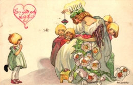 Weihnachten, Schwedische Karte, 1914 - Noël