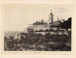 Italie :Genes Ristorante Righi (reproduction De Photo Ancienne En Noir Et Blanc De 20 Cm Sur 27 Cm) - Photographie