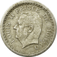 Monnaie, Monaco, Louis II, 2 Francs, Undated (1943), Paris, TB+, Aluminium - 1922-1949 Louis II