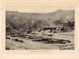 Italie :Genes Cimitero Monumentale Di Staglieno(reproduction De Photo Ancienne En Noir Et Blanc De 20 Cm Sur 27 Cm) - Photographie
