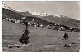 MONTANA - VERMALA - VUE GENERALE - 1952 - VALAIS - Vedi Retro - Formato Piccolo - VS Valais
