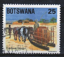 Botswana 1984 Single 25t Commemorative Stamp From The Traditional Transport Set. - Botswana (1966-...)