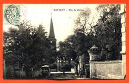 """CPA 52 Savigny """" Rue Du Chateau """" - Autres Communes"""