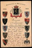 ROYAUME BELGIQUE  1830   1905 - Familles Royales