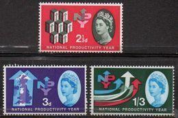 GREAT BRITAIN 1962 National Productivity Year (ordinary) - 1952-.... (Elizabeth II)