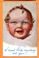 Y265, Bébé, Oilette 8706, Circulée 1921 - Babies