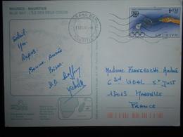 Maurice , Lettre De Grand Bay 1997 Pour Marseille - Maurice (1968-...)