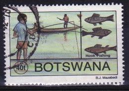Botswana 1995 Single 40t Commemorative Stamp From The Traditional Fishing Set. - Botswana (1966-...)