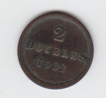 Guernsey Coin 2 Doubles 1902 - Guernesey