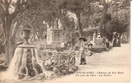 13.AYG - LES AYGALADES , Château  Du Roi René, Un Coin Du Parc , La Source - France